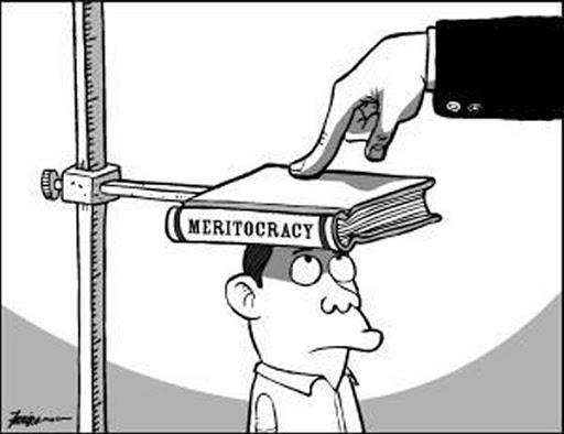 Meritocracia é uma ideia vaga