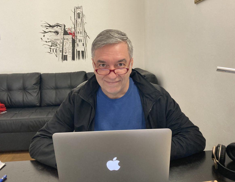 Sergio Vilas-Boas: ser escritor é uma necessidade (para mim)